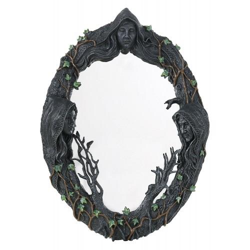 Espelho Deusa Tríplice (43 cm)
