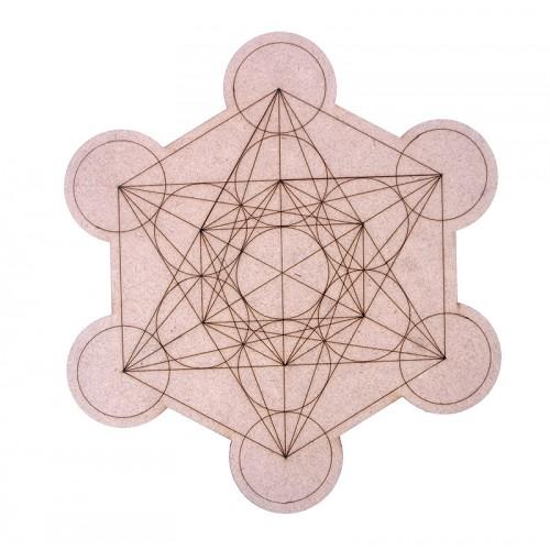 Mandala Cubo de Metatron