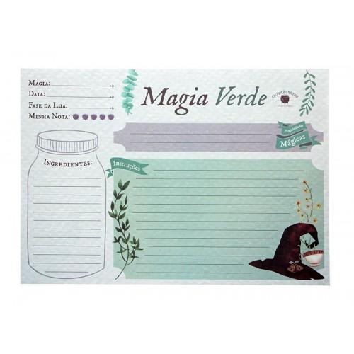 Bloco Magia Verde (50 folhas)