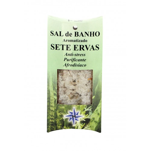 Sal de Banho Aromatizado Sete Ervas (100gr)