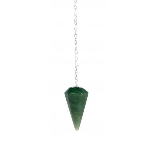 Pêndulo em Quartzo Verde