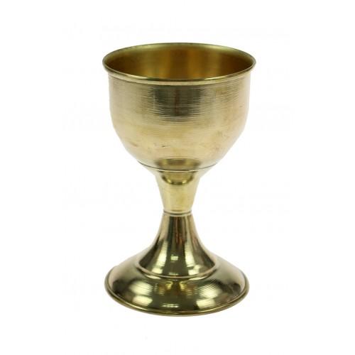 Cálice em Metal Dourado M (12 cm)
