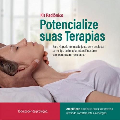 Kit Radiônico Potencialize suas Terapias