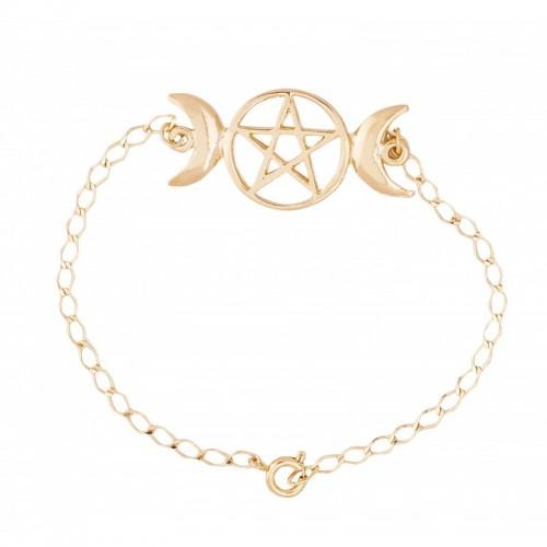 Pulseira Triluna  (Ouro 5694)